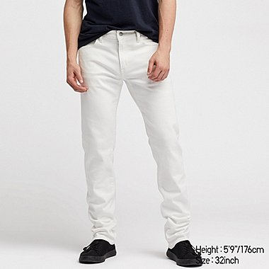 MEN SLIM-FIT JEANS, WHITE, medium