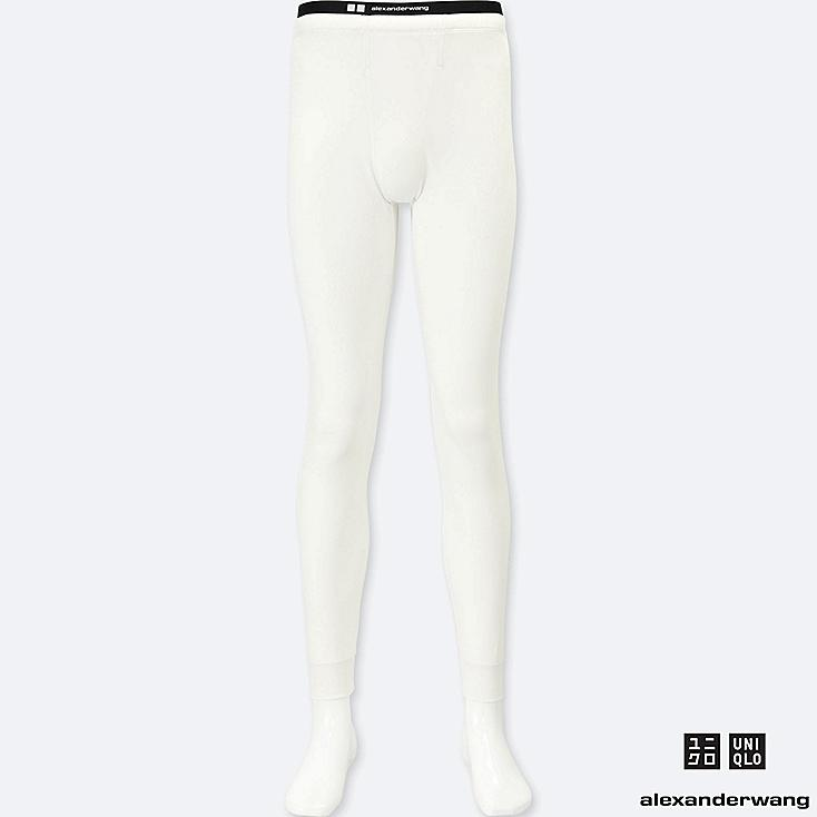 MEN HEATTECH EXTRA WARM LONG JOHNS (ALEXANDER WANG), WHITE, large