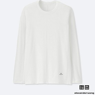 MEN ALEXANDER WANG HEATTECH EXTRA WARM LONG SLEEVE T-SHIRT