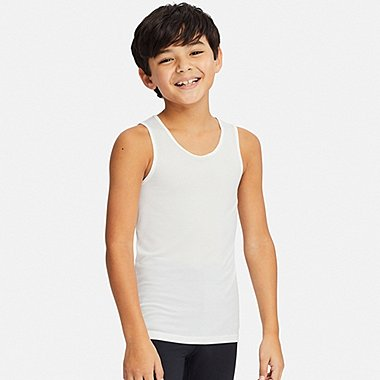KIDS AIRISM MESH VEST TOP