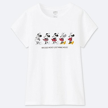 GIRLS CELEBRATE MICKEY SHORT-SLEEVE GRAPHIC T-SHIRT, WHITE, medium