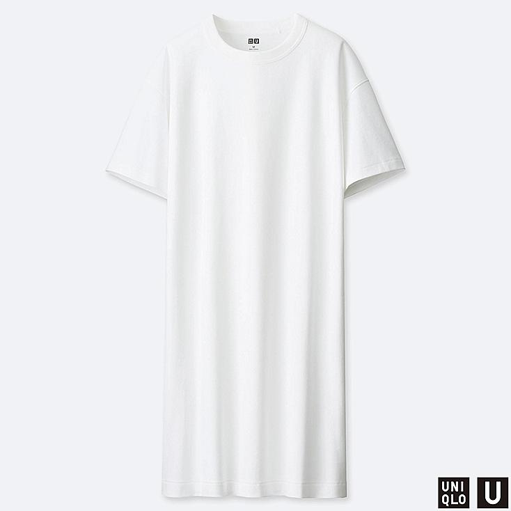 WOMEN UNIQLO U CREW NECK T-SHIRT DRESS