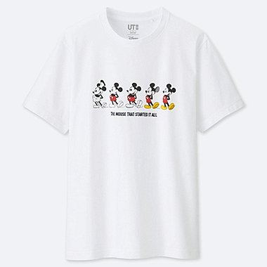 CELEBRATE MICKEY SHORT-SLEEVE GRAPHIC T-SHIRT, WHITE, medium