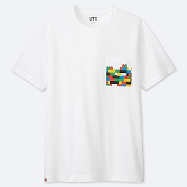 THE BRANDS Masterpiece SHORT-SLEEVE GRAPHIC T-SHIRT (LEGO), WHITE, medium