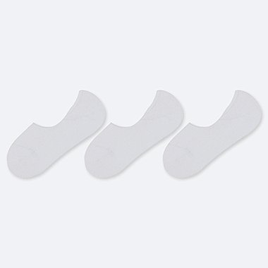 WOMEN NO-SHOW SHOE LINERS (THREE PAIRS)