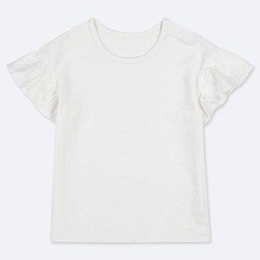 TODDLER CREW NECK SHORT-SLEEVE T-SHIRT, WHITE, medium