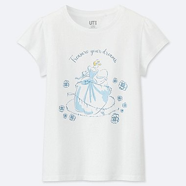 DISNEY BLOSSOMING DREAMS  (CENICIENTA) CAMISETA ESTAMPADA NIÑA