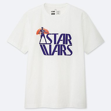 MASTER OF GRAPHICS FEATURING STAR WARS UT NIGO (SHORT-SLEEVE GRAPHIC T-SHIRT), WHITE, medium