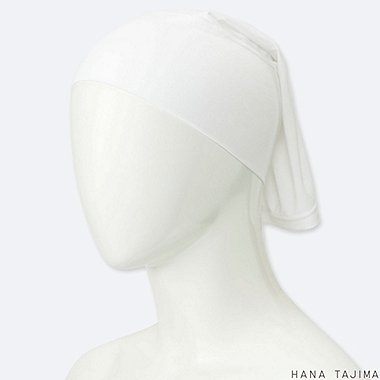 WOMEN AIRism HEADBAND (HANA TAJIMA), WHITE, medium