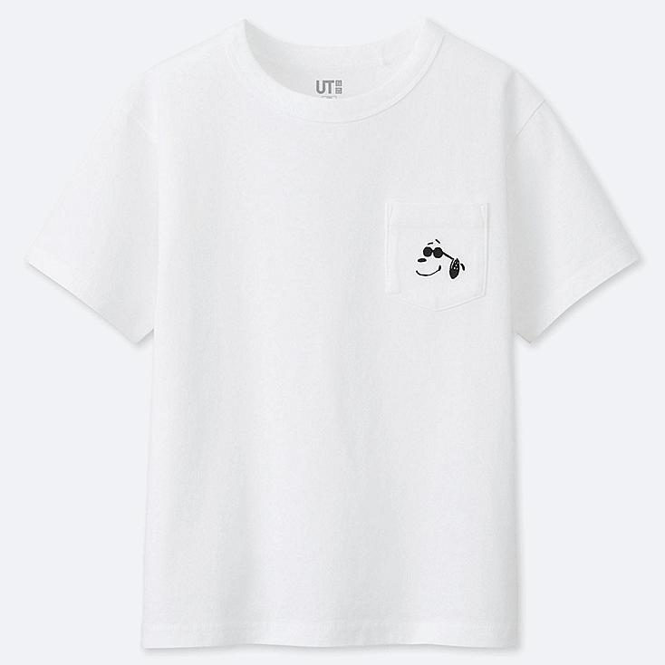 KIDS PEANUTS UT (SHORT-SLEEVE GRAPHIC T-SHIRT), WHITE, large