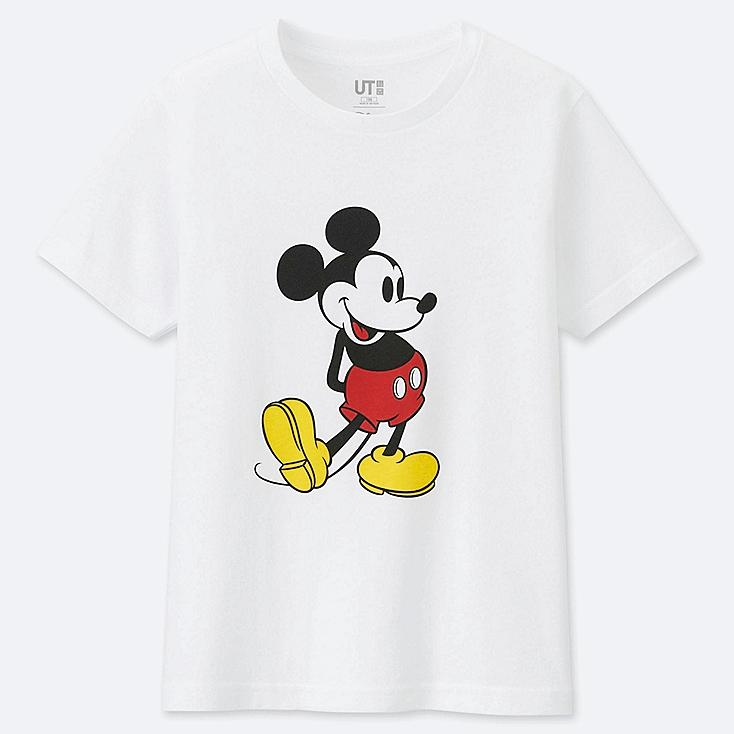 KIDS MICKEY STANDS SHORT-SLEEVE GRAPHIC T-SHIRT, WHITE, large