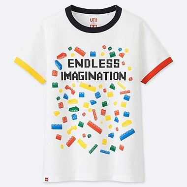 KIDS LEGO® GRAPHIC PRINT T-SHIRT