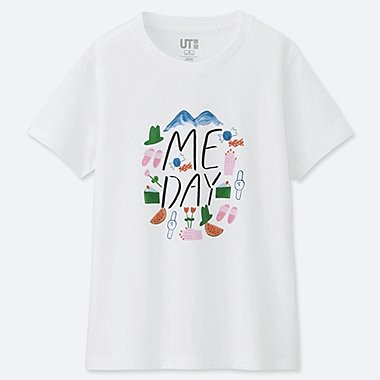 DAMEN BEDRUCKTES T-SHIRT AND HAVE FUN! BY GRACE LEE