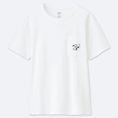 WOMEN PEANUTS UT (SHORT-SLEEVE GRAPHIC T-SHIRT), WHITE, medium