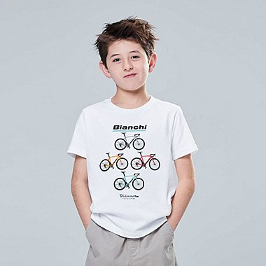 KIDS THE BRANDS BICYCLE GRAPHIC PRINT T-SHIRT