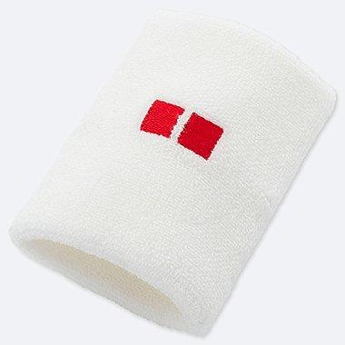 TENNIS WRISTBAND (KEI NISHIKORI), WHITE, medium