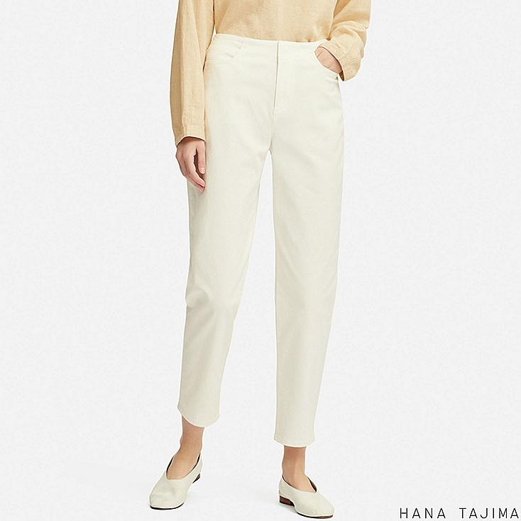 women color tapered ankle pants