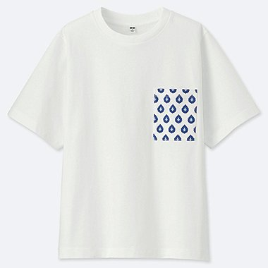 WOMEN PROVENCE PRINTED SHORT-SLEEVE GRAPHIC T-SHIRT, WHITE, medium
