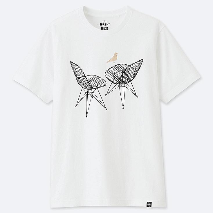 MEN SPRZ NY SHORT-SLEEVE GRAPHIC T-SHIRT (EAMES), WHITE, large