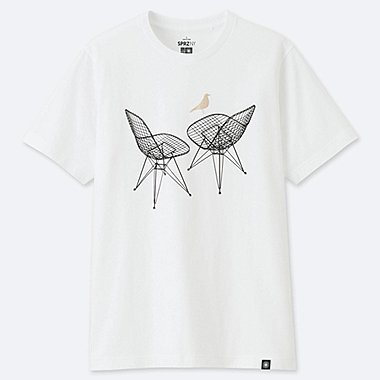 SPRZ NY EAMES UT (SHORT-SLEEVE GRAPHIC T-SHIRT), WHITE, medium