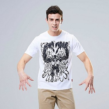 MARVEL X JASON POLAN GRAPHIC T-SHIRT, WHITE, medium