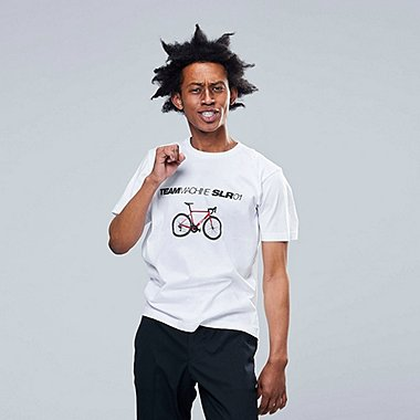 HERREN BEDRUCKTES T-SHIRT THE BRANDS BICYCLE