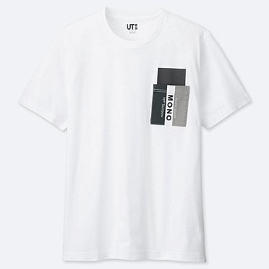 MEN THE BRANDS MONO GRAPHIC PRINT T-SHIRT
