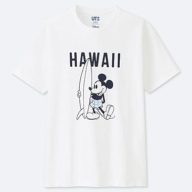 MICKEY BLUE SHORT-SLEEVE GRAPHIC T-SHIRT, WHITE, medium