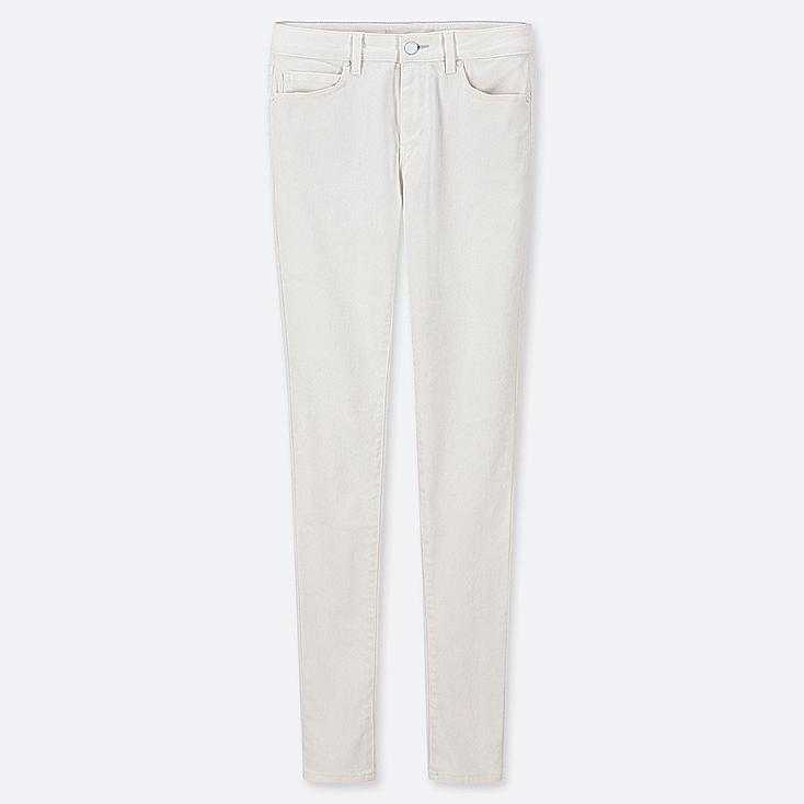 """WOMEN ULTRA STRETCH JEANS (TALL 34"""") (ONLINE EXCLUSIVE), WHITE, large"""