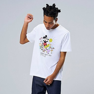MICKEY ART UT JEREMYVILLE (SHORT-SLEEVE GRAPHIC T-SHIRT), WHITE, medium