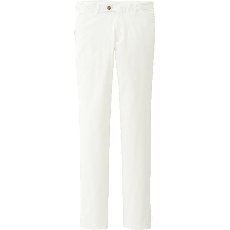 Slim fit chino pants, OFF WHITE, large