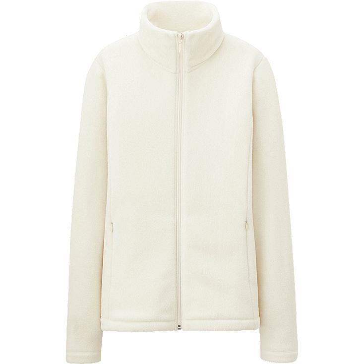 WOMEN Fleece Long Sleeve Full Zip Jacket