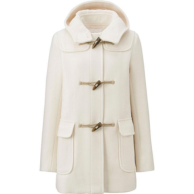 WOMEN Wool Blended Duffle Coat