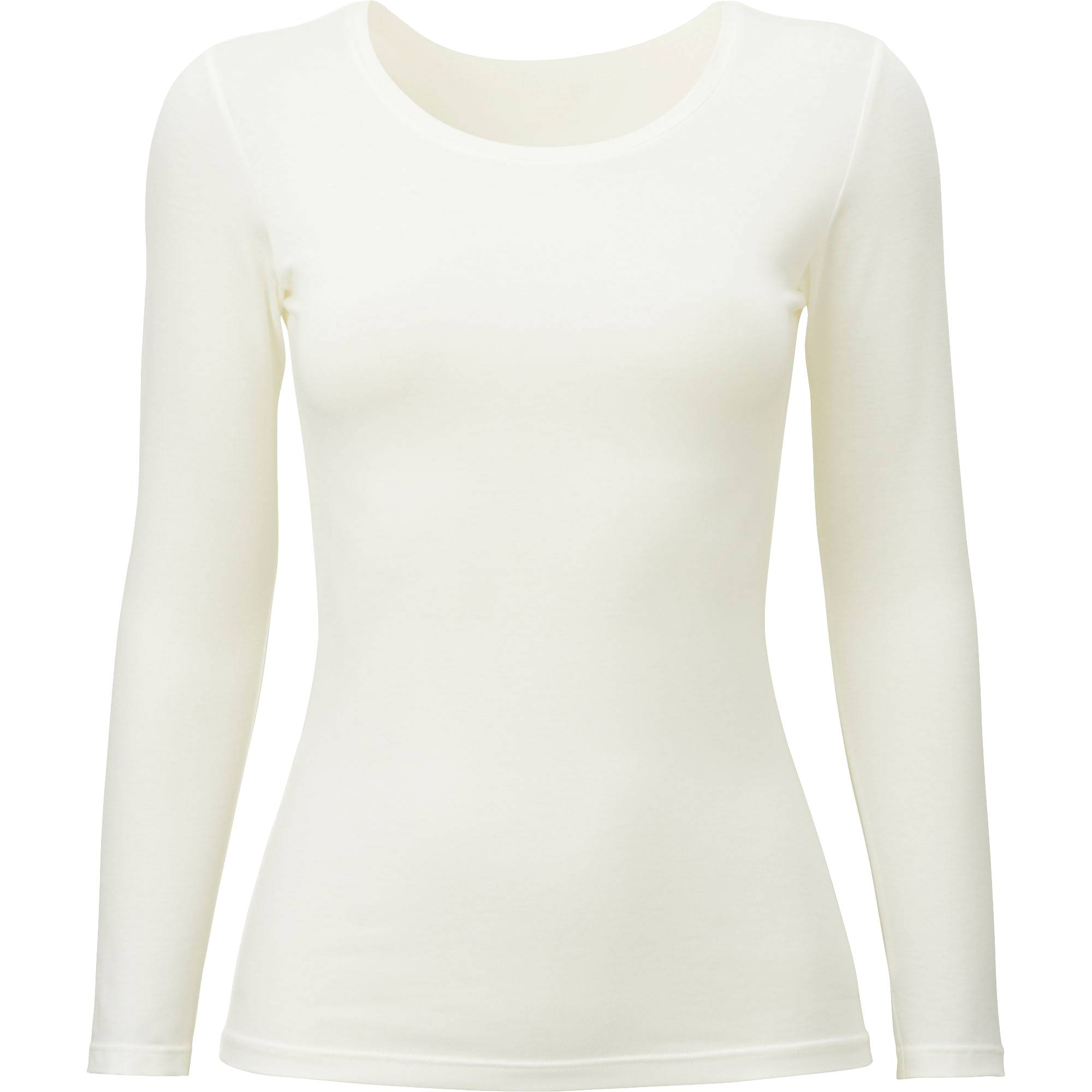 WOMEN HEATTECH CREWNECK LONG SLEEVE T-SHIRT | UNIQLO US