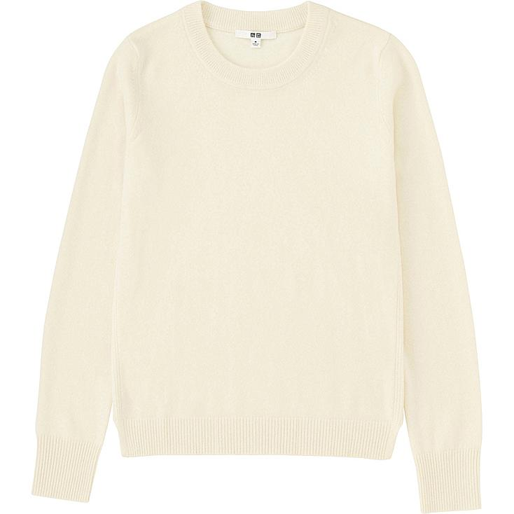WOMEN Cashmere Crew Neck Sweater