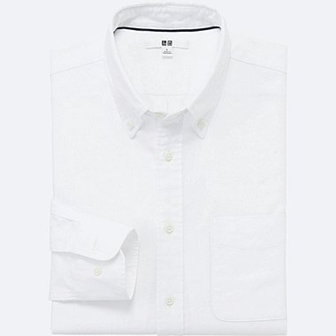 MEN Oxford Long Sleeve Shirt