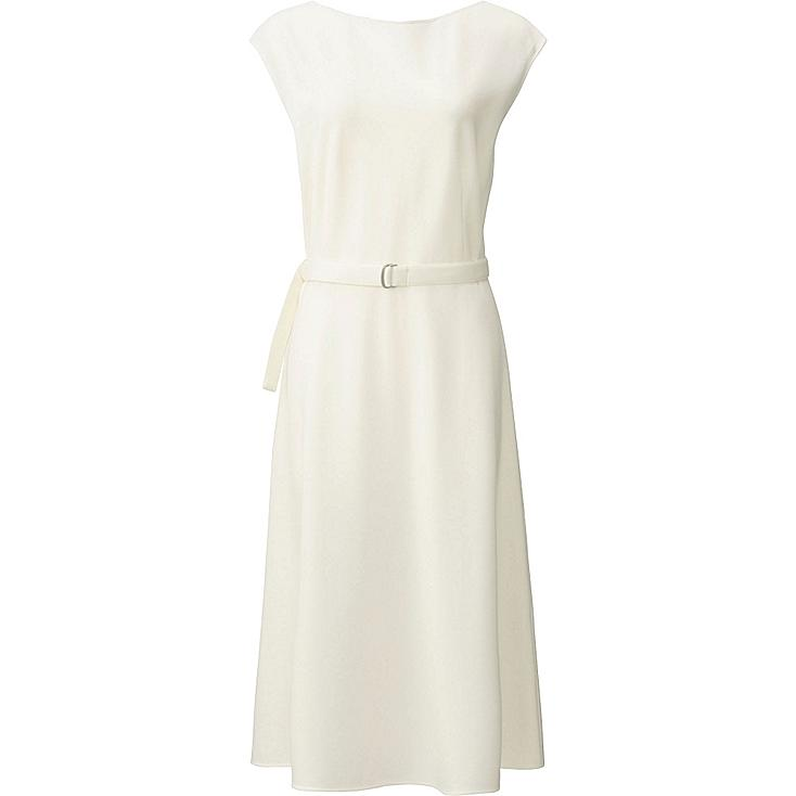 W's dress, OFF WHITE, large