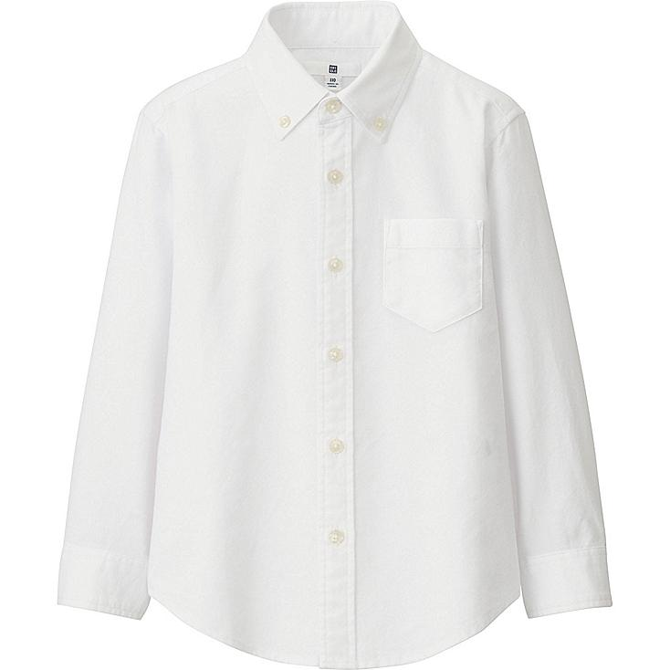 BOYS Oxford Long Sleeve Shirt