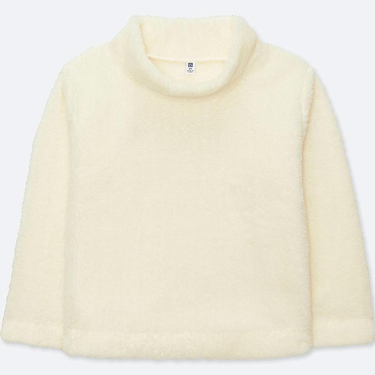 MÄDCHEN Fleece Langarmshirt