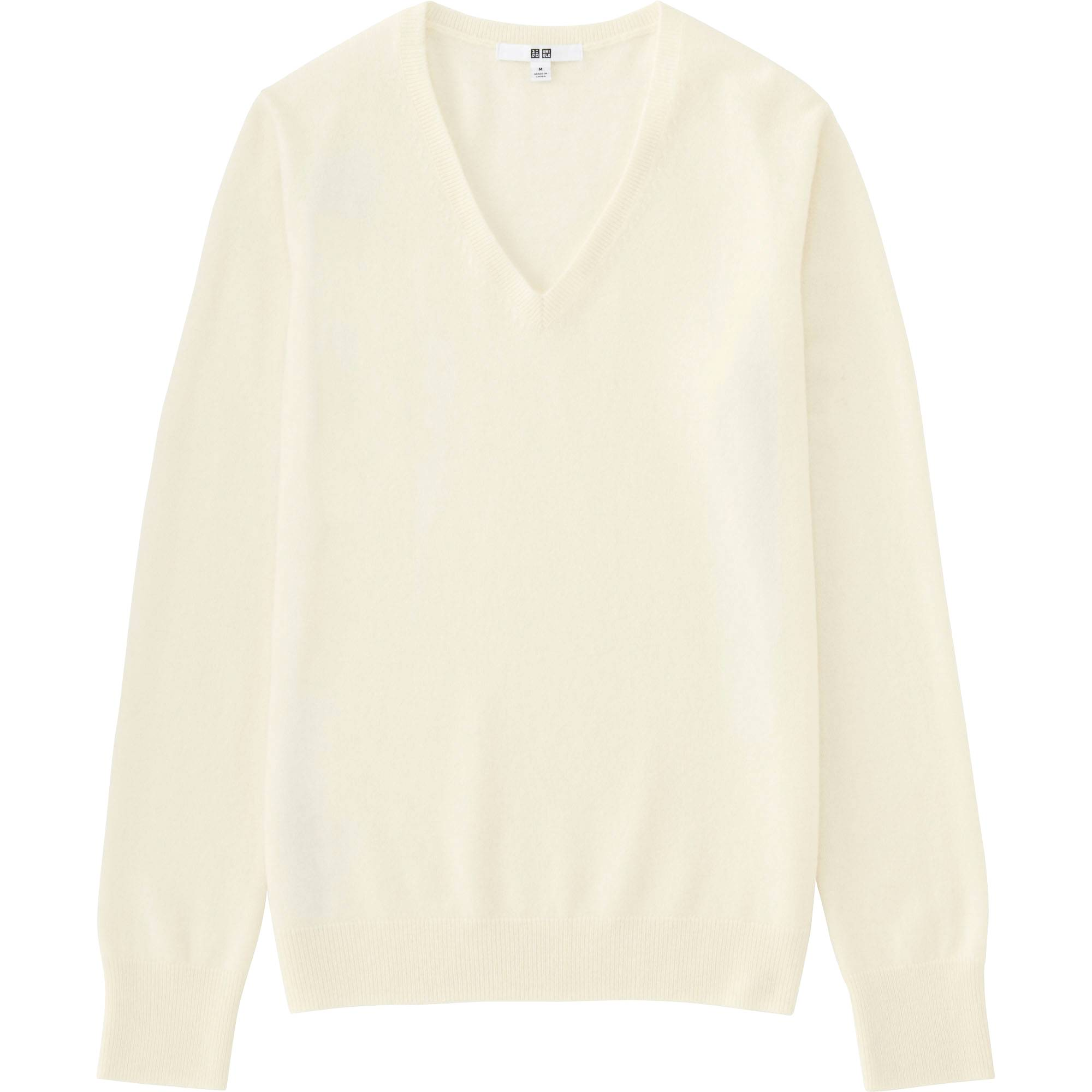 Women Cashmere V-Neck Sweater | UNIQLO US