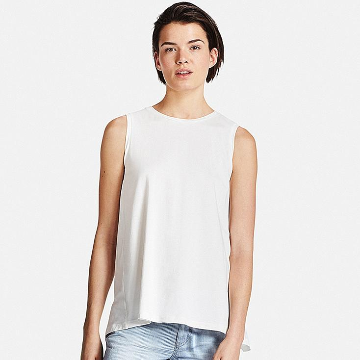 WOMEN Cotton Modal Long Tank Top