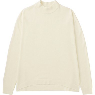 WOMEN Extra Fine Merino High Neck Sweater