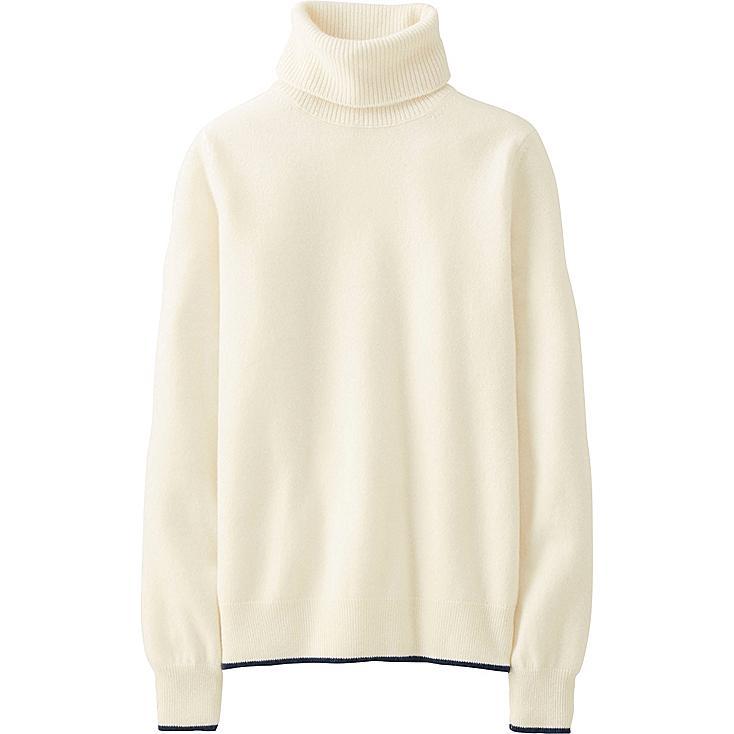 WOMEN INES Cashmere Turtle Neck Sweater