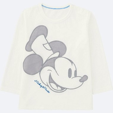 TODDLER Disney Long Sleeve Crew Neck T-shirt