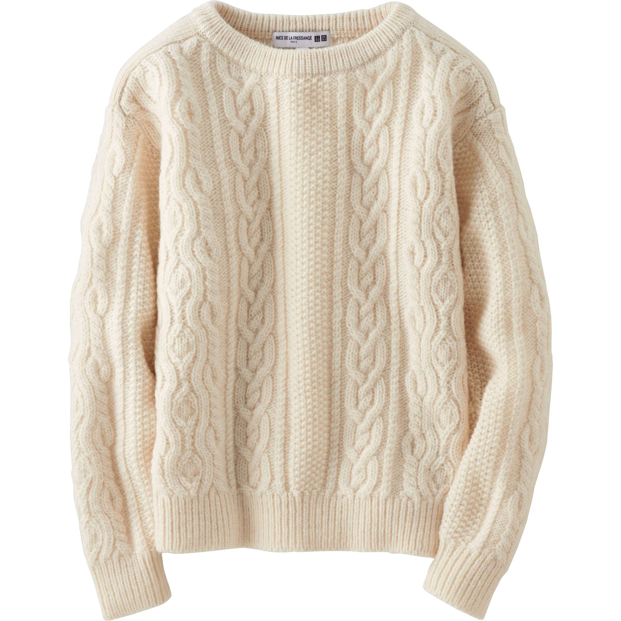 Women idlf cable boat neck sweater uniqlo us women idlf cable boat neck sweater brown small bankloansurffo Images