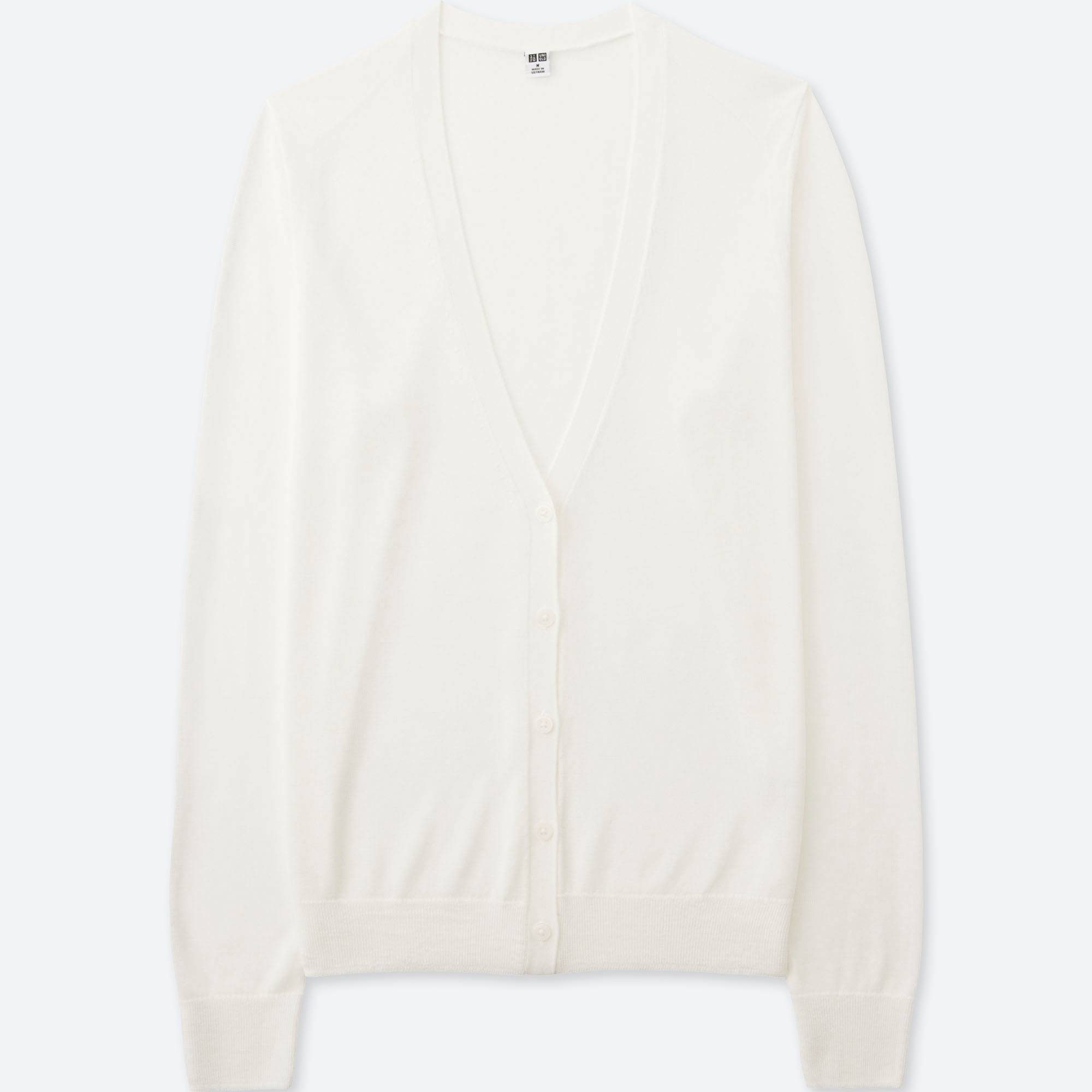 WOMEN LIGHT V-NECK LONG-SLEEVE CARDIGAN | UNIQLO US