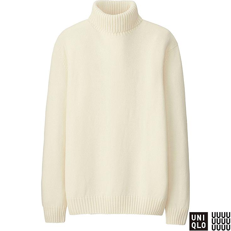 MEN U CASHMERE BLEND TURTLENECK SWEATER | UNIQLO US