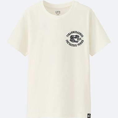 KIDS Discovery Channel SHORT SLEEVE GRAPHIC T-SHIRT, OFF WHITE, medium