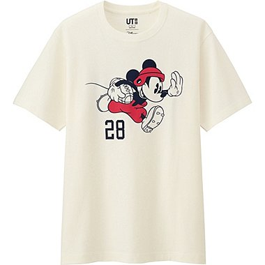MEN DISNEY COLLECTION SHORT SLEEVE GRAPHIC T-SHIRT, OFF WHITE, medium