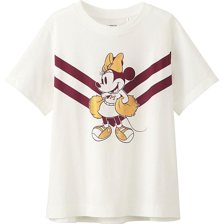 WOMEN DISNEY PROJECT SHORT SLEEVE GRAPHIC T-SHIRT, OFF WHITE, large